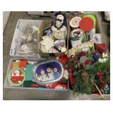 Pallet lot of Christmas Decorations