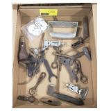 Lot of various wrenches and more