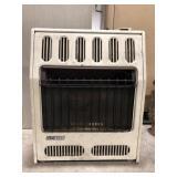 Glo-Warm gas floor or wall mount heater.