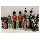 Lot Figurines Soldiers Veterans Horse