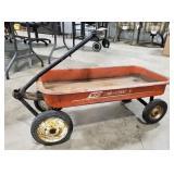 800 Hawthorne red wagon