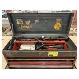 Craftsman Tool Box with Misc Tools
