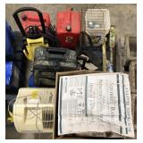 Lot of miscellaneous yard, garden and fishing