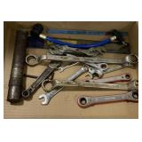 Tool Lot Including Wrenches