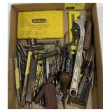 """Misc Tools Including 1/4"""" Electric Drill Set,"""