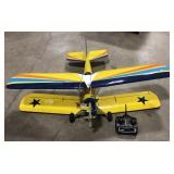 """RC Model airplane with remote, approximately 52"""""""