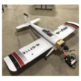 """RC Model airplane with remote, approximate 72"""""""