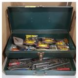Toolbox w/ Drawer and Misc. Tools