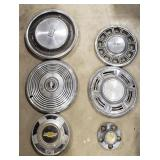 Chevrolet and Other Misc. Hubcaps and Parts