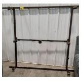 Rolling Metal bed frame