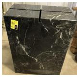 Heavy marble table base