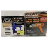 Nailer / Stapler And Heat Gun