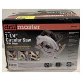 "Drillmaster 7-1/4"" Circular Saw With Blade"