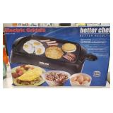 Better Chef Electric Griddle Model