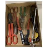 Lot of Tin Cutting Tools