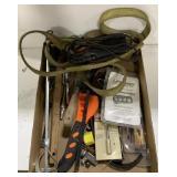 Lot of Misc Tools Including Scraper, Paint Mixer