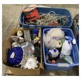 Pallet Includes Christmas Lights, Kitchen Items,