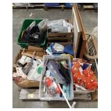 Large lot of household items, some home decor,