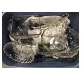 Lot of miscellaneous glassware and bakeware by