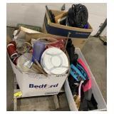 Pallet Includes Snorkeler Flippers, Silverware,