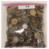 10 lbs Of Mixed World Coins