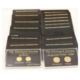 17 Westward Journey Dollar & Nickel Sets