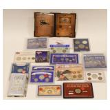 (19) US Silver Coin Collectors Sets