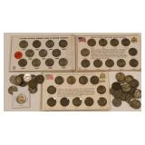 (63) Mixed Jefferson War Nickels