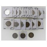 (25) German Third Reich 2 Mark Silver Coins