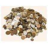10 Pound Bag Of  Mixed World Coins