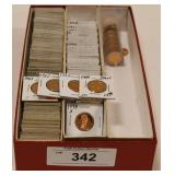 200+ Dealer Stock Proof Lincoln Cents 1957-2008