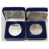 Pair Of 2004 Freedom Tower Commemorative Coins