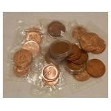 (24) Mixed Copper Medals & Tokens
