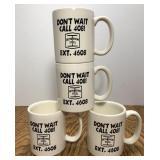 Vintage Bethlehem Steel Coffee Mug Lot