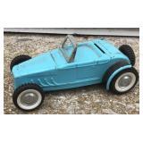 Vintage Nylint Pressed Steel Ford Roadster