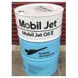 Mobil Jet Oil II 55 Gallon Empty Drum  New full