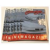 (7) 1991 Illiana Motor Speedway Program Has wear
