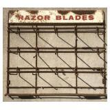 Vintage Razor Blades Metal Store