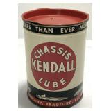 Vintage Kendall Chassis Lube 1 Pound Can