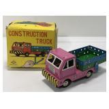 Vintage Daiya Japan Construction Truck In Box