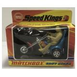Rare Vintage Matchbox Easy Rider zapped Kings