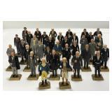 Lot of 35 Vintage Marx President Figures