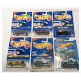 (6) Hot Wheels Car On Blister Pack Sold times