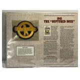 "1945 The ""Ruptured Duck"" Cooperstown Baseball"