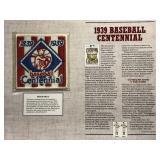 1939 Baseball Centennial Cooperstown Baseball