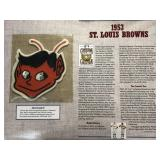 1953 St. Louis Browns Cooperstown Baseball