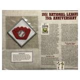 1951 National League 75th Anniv.  Cooperstown