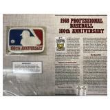 1969 Baseball 100th Anniv Cooperstown Baseball