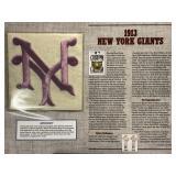 1913 New York Giants Cooperstown Baseball