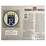 1985 Kansas City Royals Cooperstown Baseball